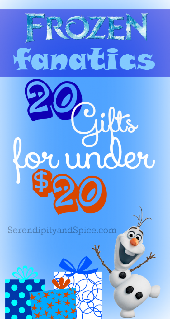 20 gifts for under $20 for Frozen Fans