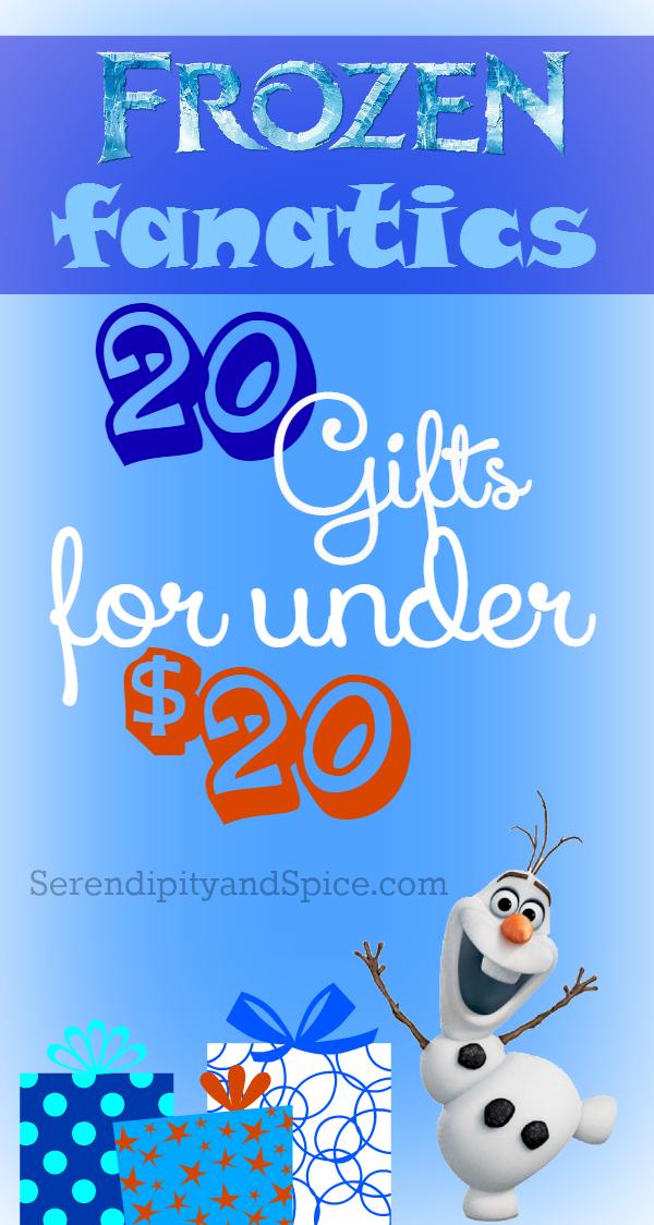 Top 20 Frozen Gifts Under