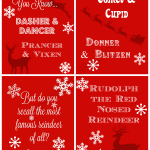 Free Christmas Printables 4 Pack