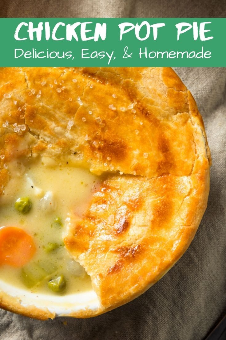 Semi-Homemade Chicken Pot Pie Recipe