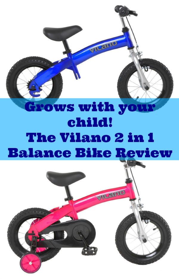Vilano 2 in 1 Balance Bike Review