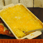 Cheesy Corn Casserole Recipe – Perfect Thanksgiving Dish