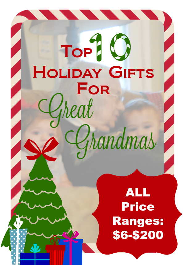 Holiday Gifts for Great Grandma