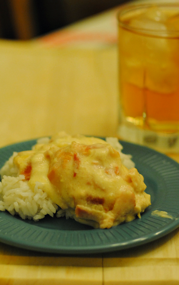 Slow Cooker Recipe: Creamy Chicken and Bacon