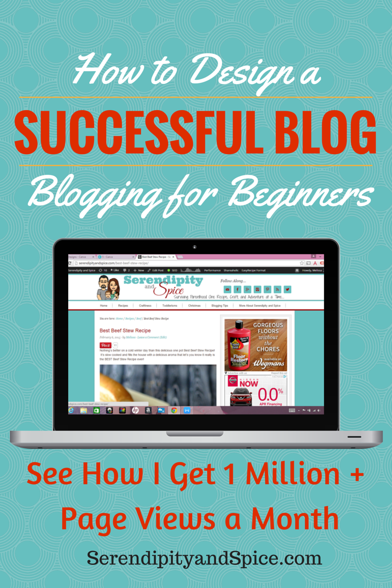 How to DESIGN a Successful Blog