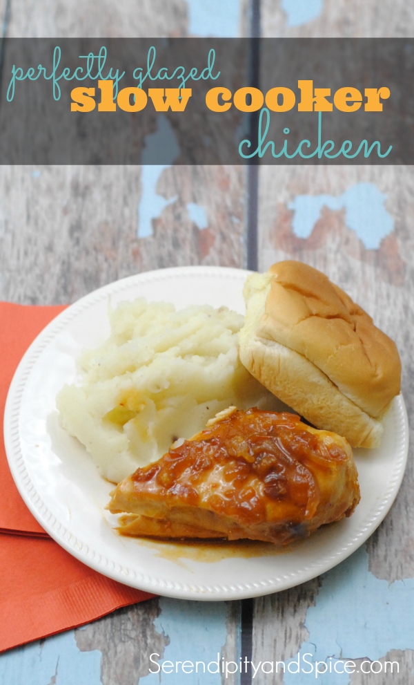Perfectly Glazed Slow Cooker Chicken Recipe