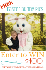 Free Easter Bunny Pictures and $100 Gift Card