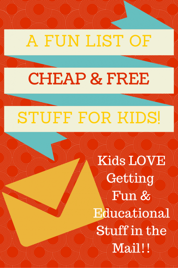 Fun Cheap and Free Stuff for Kids