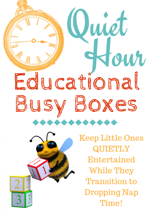 Quiet Hour Educational Busy Boxes