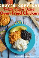 Queso Potato Chip Oven Baked Chicken Recipe