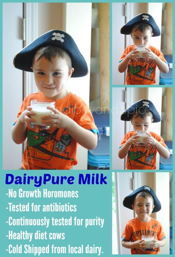 Why I chose DairyPure Milk #ad
