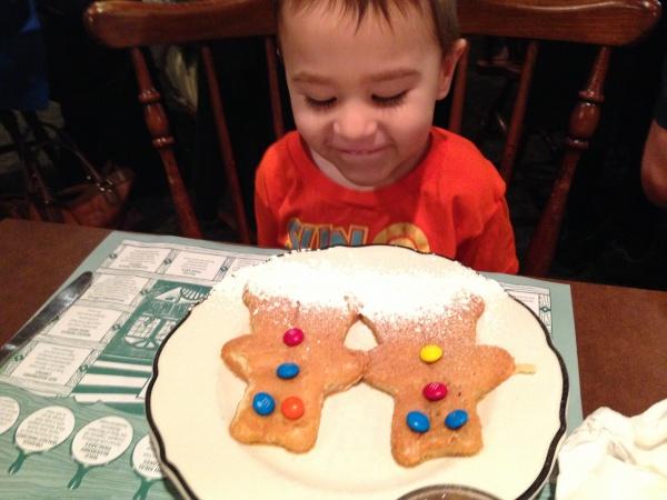 Bear Pancakes from Pancake Pantry!