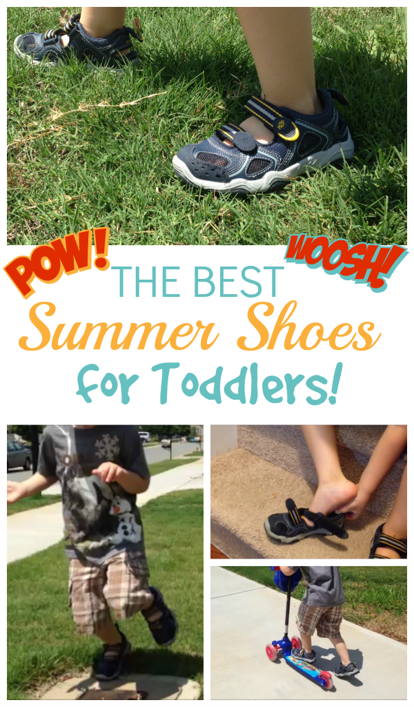 The best summer shoes for toddlers