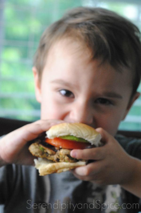 The Ultimate Vegetarian Burger