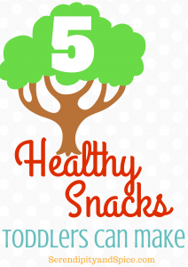 5 Simple Toddler Snack Recipes