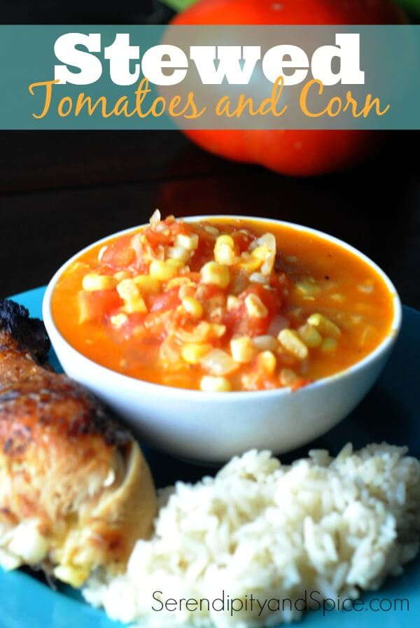 Stewed Tomatoes and Corn Recipe