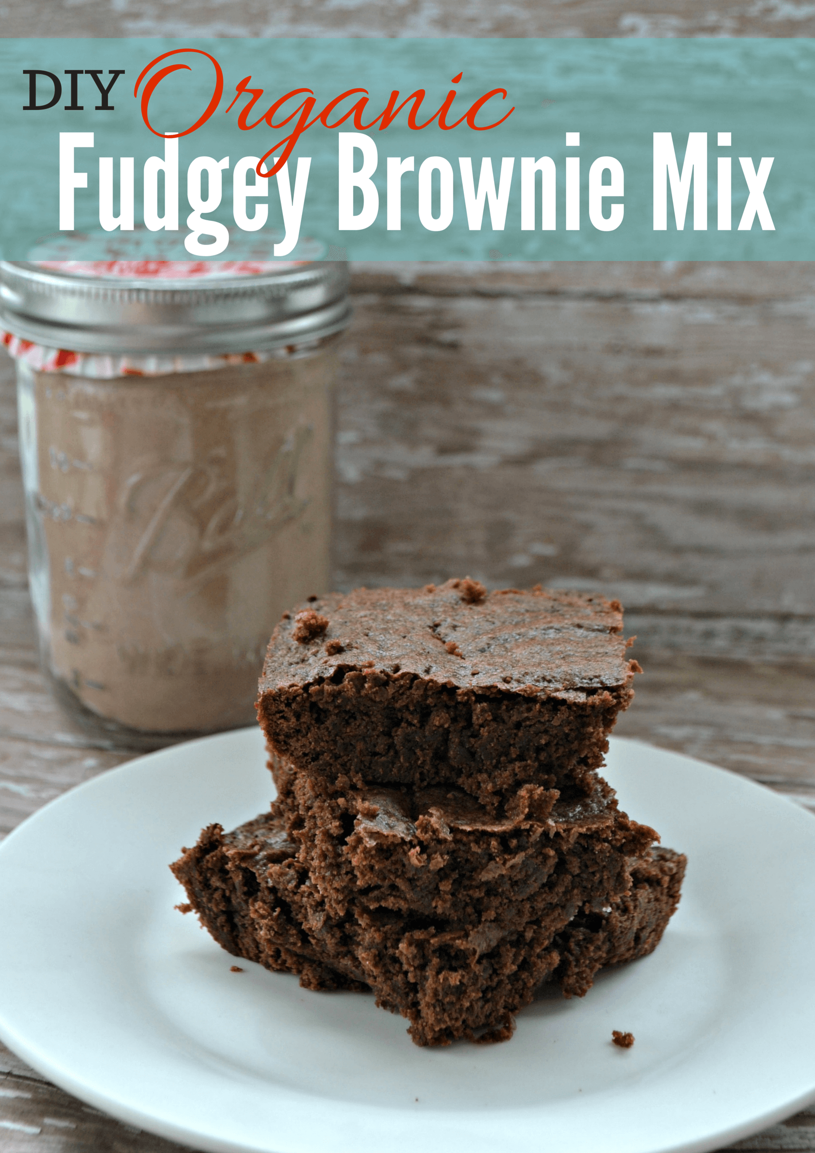 BEST Organic Brownies Recipe