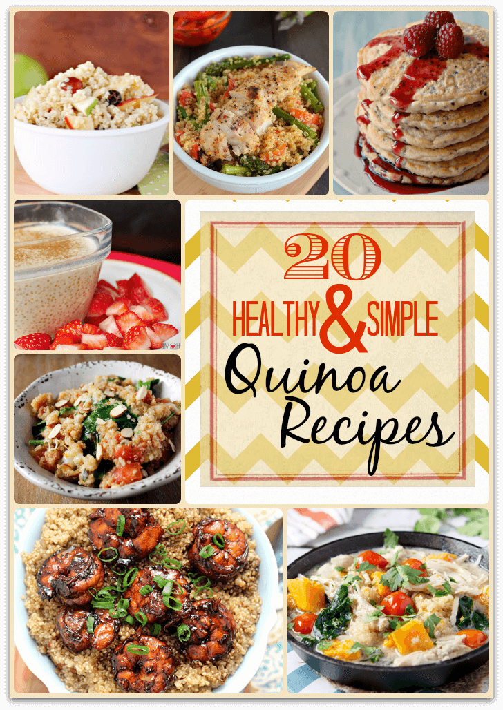 20 Healthy and Simple Quinoa Recipes