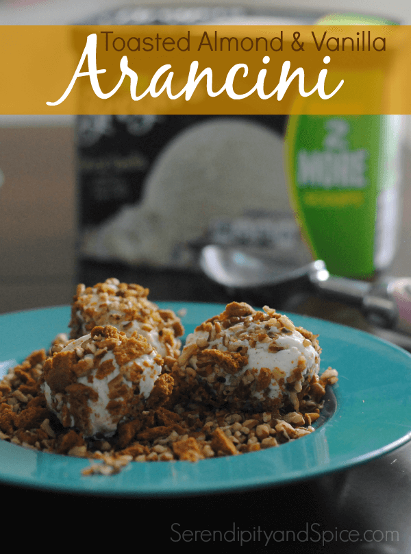 Toasted Almond and Vanilla Arancini Recipe