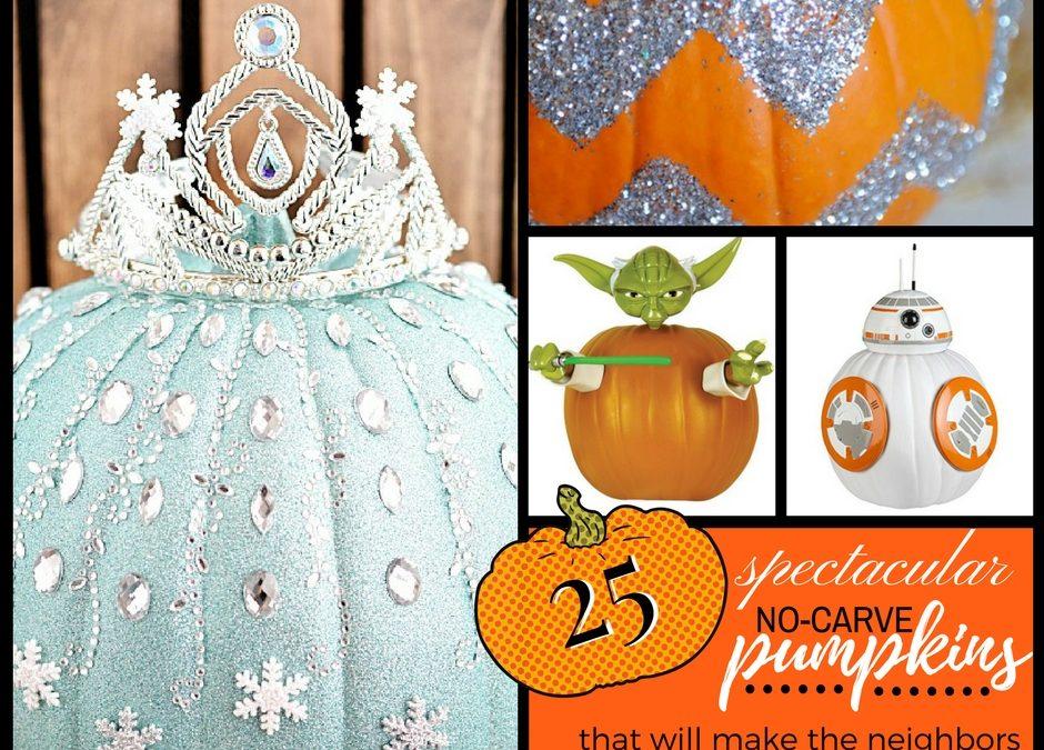 Best No Carve Pumpkin Ideas