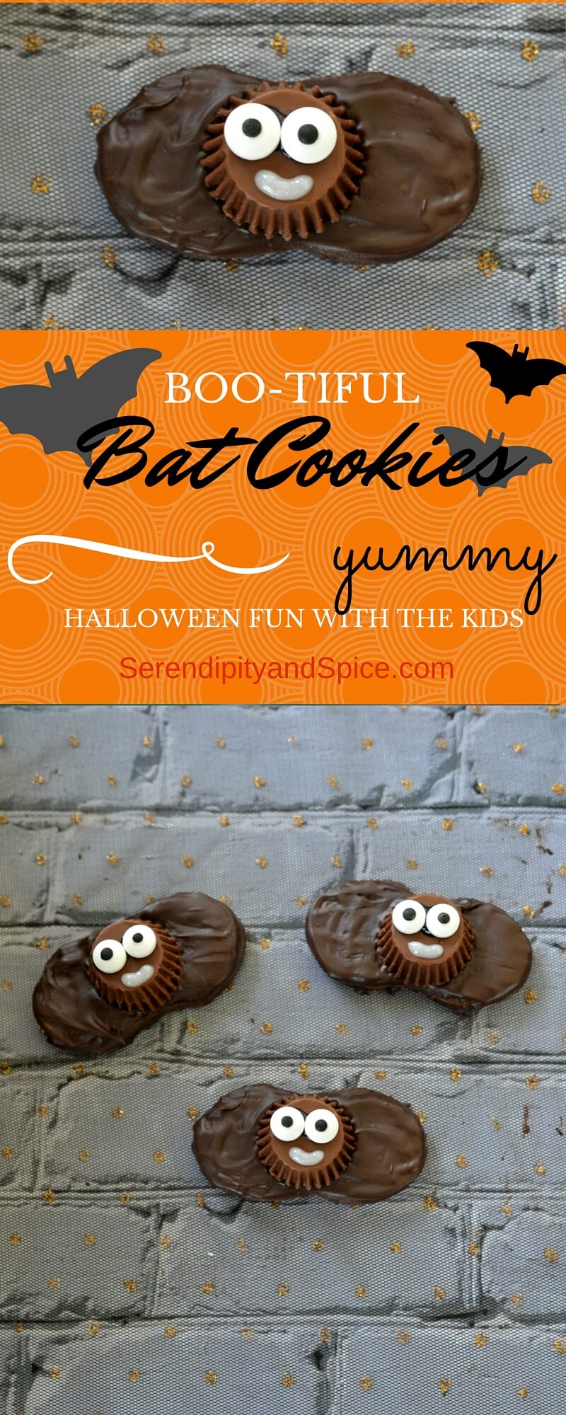 How to Make Boo-tiful Bat Cookies