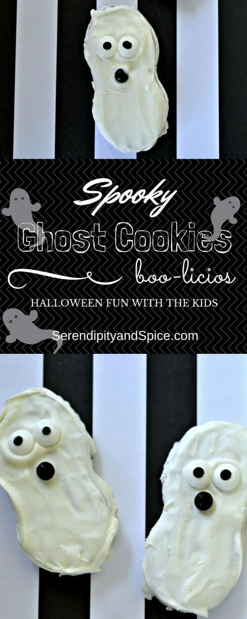 Spooky Ghost Halloween Cookies Semi Homemade