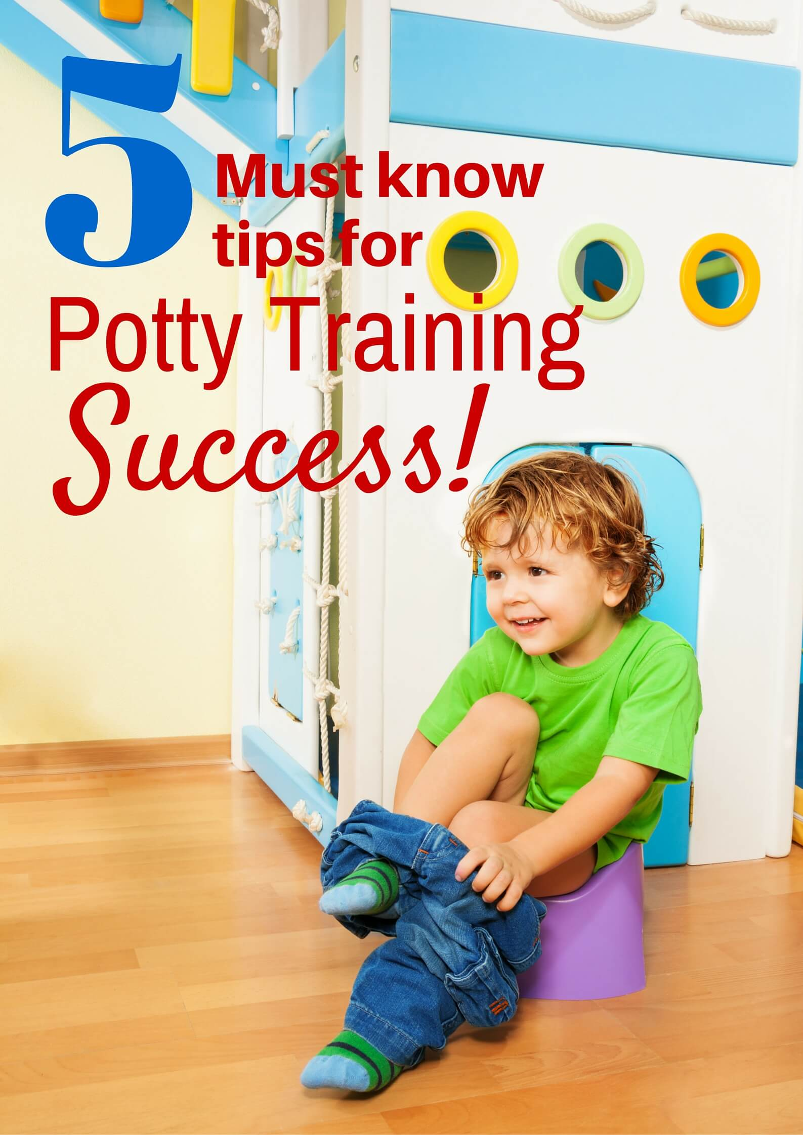 5 Must Know Potty Training Tips for Success