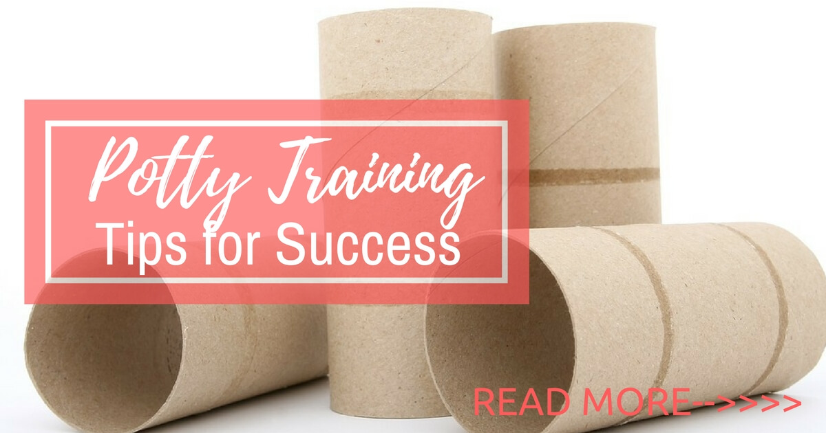 Tips for potty training success