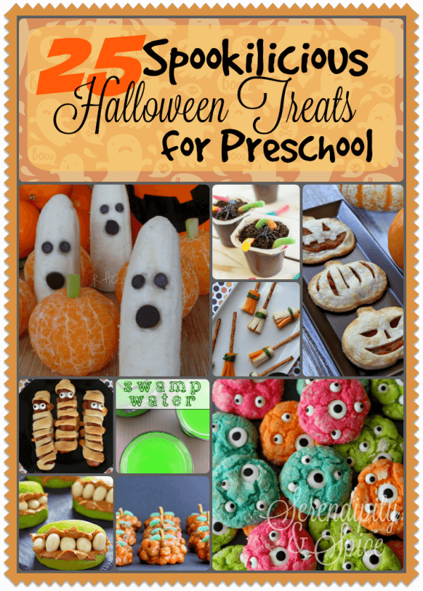 25 Spookilicious Halloween Treats for Preschool