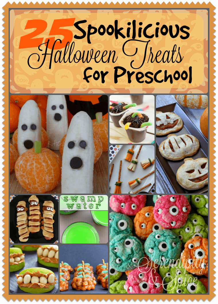Halloween treat recipes for toddlers for Halloween cooking ideas for preschool
