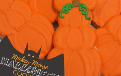 Mickey Mouse Pumpkin Halloween Cookies Recipe