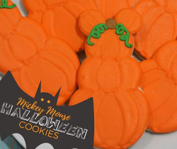Mickey Mouse Halloween Cookies Recipe