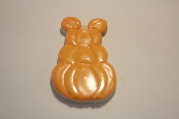 Mickey Mouse Pumpkin Patch in process 3