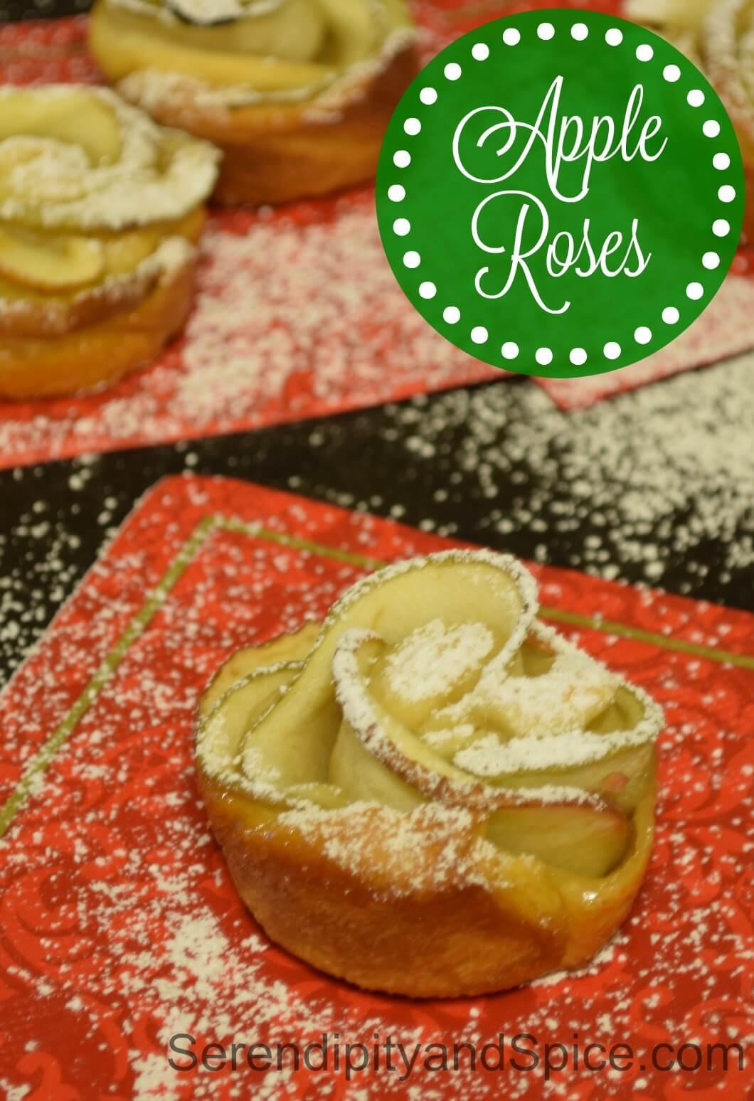 Baked Apple Roses Recipe