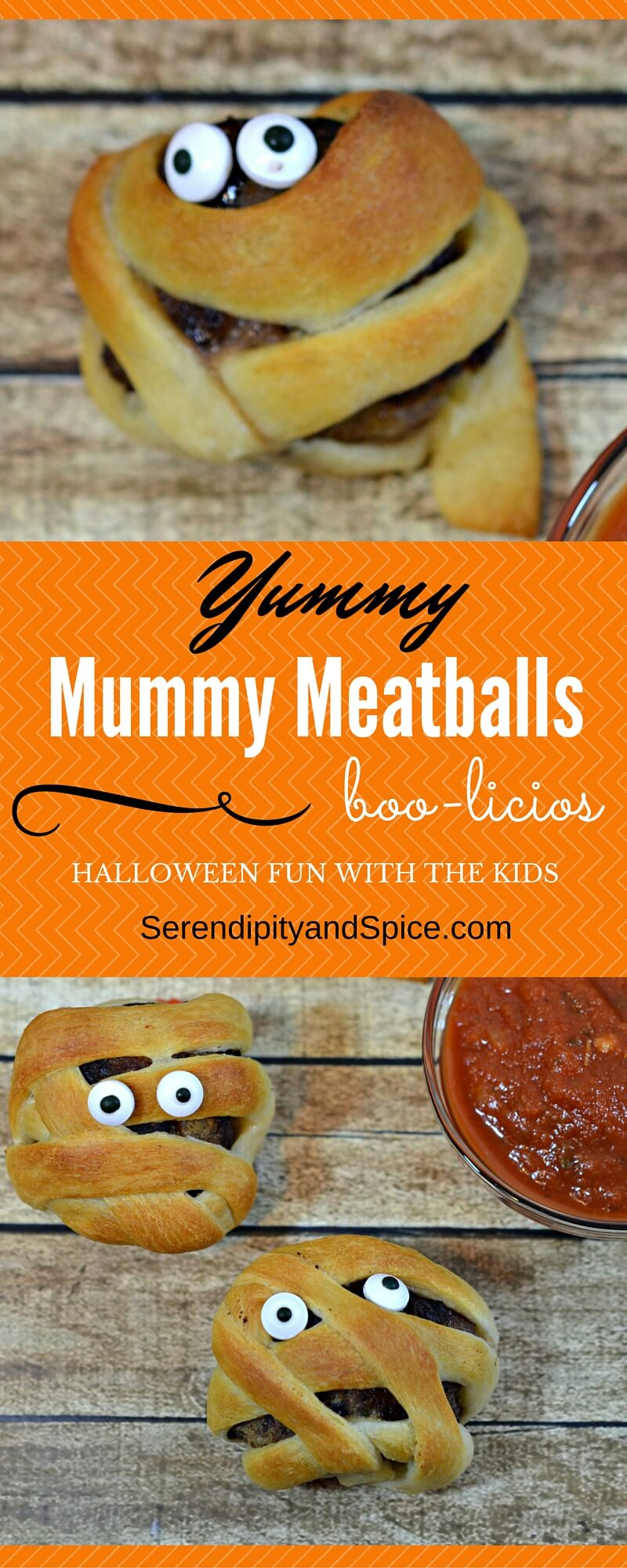Yummy Mummy Meatballs A Halloween Treat for Kids