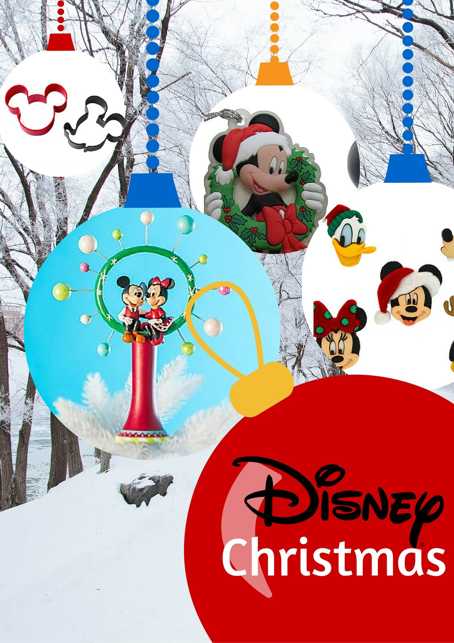 a disney christmas mickey mouse christmas decorations - Disney Christmas Decorations