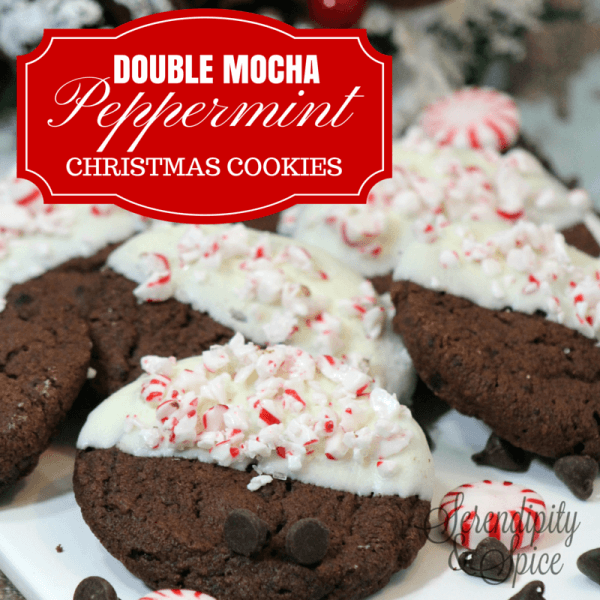 Double Chocolate Mocha Peppermint Cookie Recipe