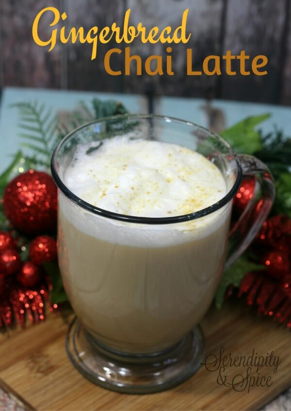 Gingerbread Chai Latte Recipe