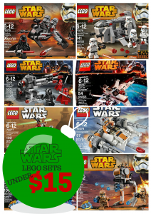 Star Wars Lego Sets Under $15