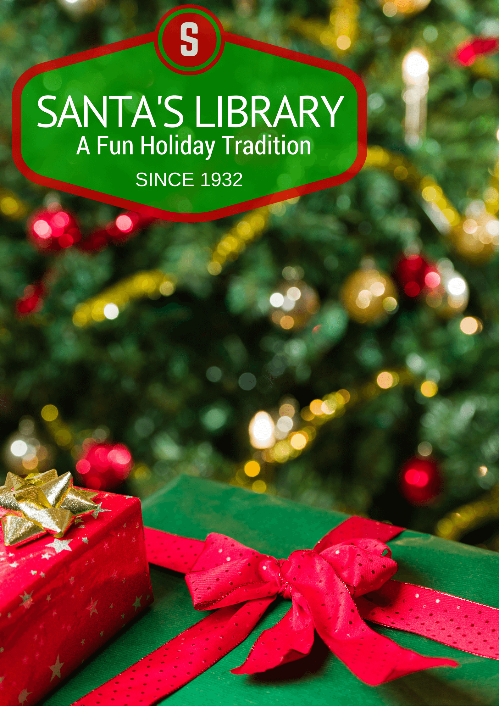 Christmas Books for Kids- Santa\'s Library Tradition