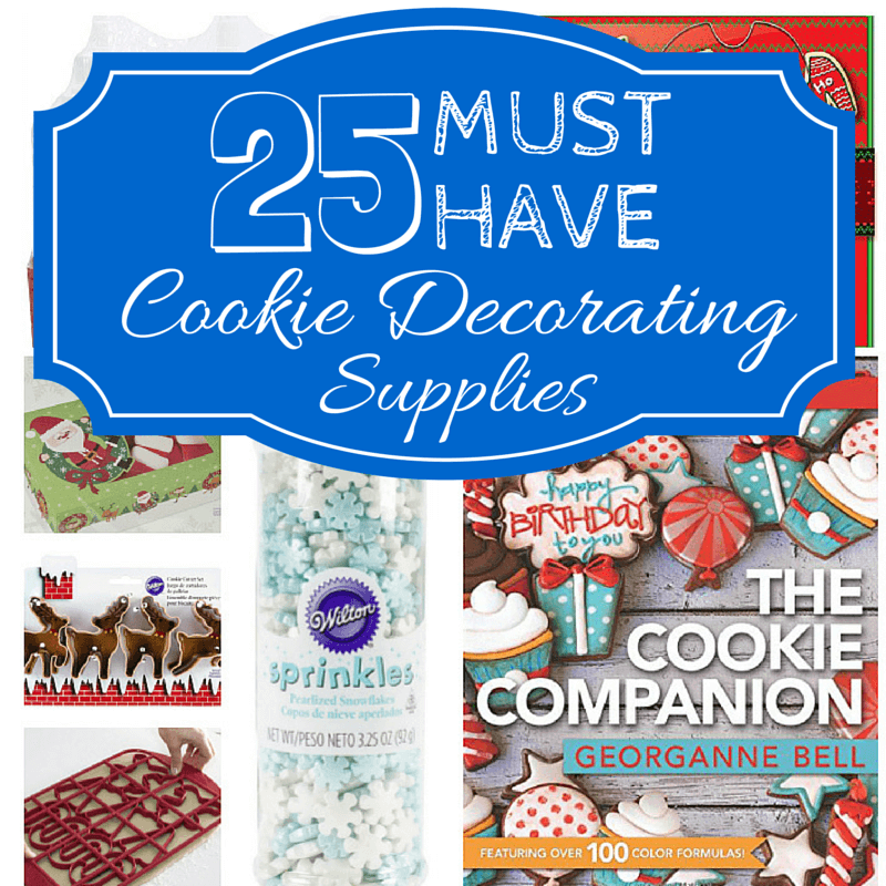 must have christmas cookie supplies - Christmas Cookie Decorating Supplies