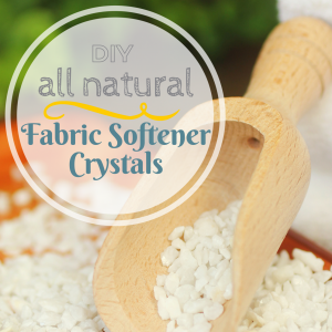All Natural DIY Laundry Detergent Crystals