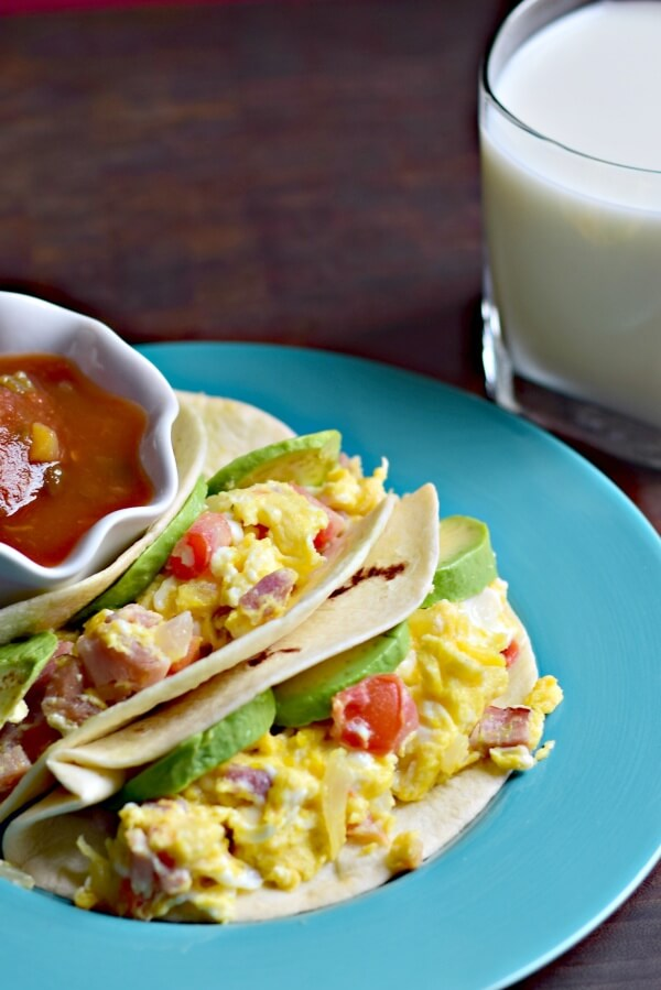 Breakfast Tacos Recipe #MyMorningProtein
