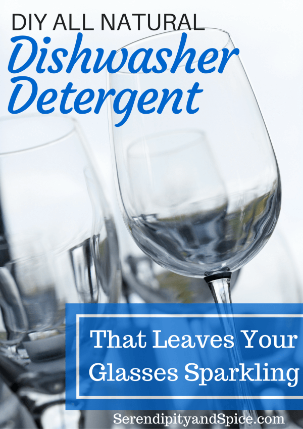 DIY ALL NATURAL Dishwasher Detergent