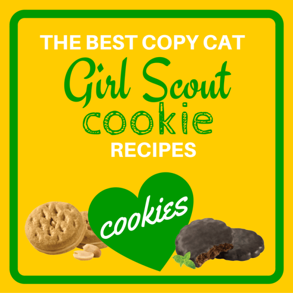 Copy Cat Girl Scout Cookies Recipes