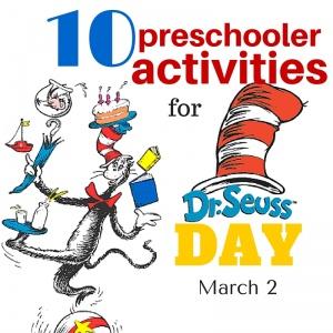 10 Dr. Seuss Activities for Preschoolers