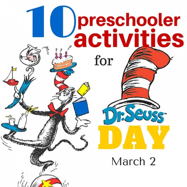 10 Dr Seuss Activities for Preschoolers