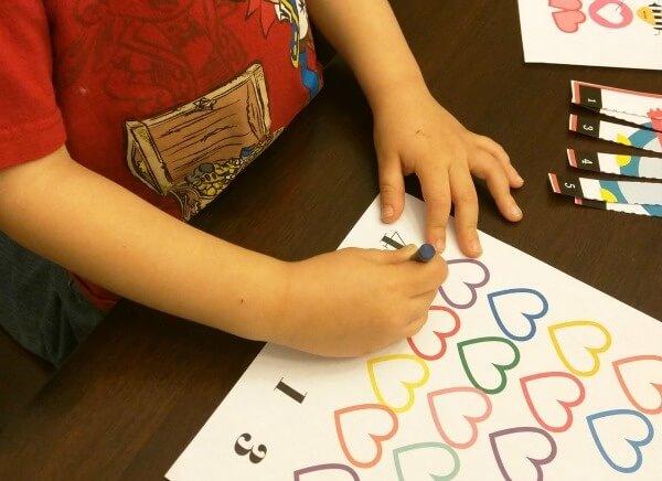 Preschooler Valentine Activity Pack