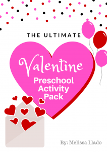 Ultimate Valentine Preschool Activity Pack