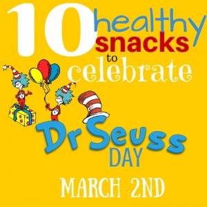 Dr Seuss Healthy Snacks for Preschoolers